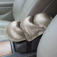 Comfortable Automotive Armrest Mats, Size: 28x20cm (Grey)