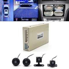 DV360C 360 Seamless Surround View Digital Video Recorder  Car Night Vision DVR, Support TF Card / Motion Detection with 4 Cameras