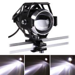 U5 12V 3000LM CREE LED Life Waterproof Motorcycle Driving Light Headlamp with Bright Light & Soft Light & Cool Flash Light Mode
