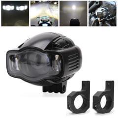 Speedpark Motorcycle Fog Light 22-40mm USB LED Motorcycle Spotlight with Bracket for Yamaha / Kawasaki / BMW / Honda