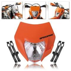 Speedpark KTM Cross-country Motorcycle LED Headlight Grimace Headlamp (Orange)