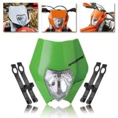 Speedpark KTM Cross-country Motorcycle LED Headlight Grimace Headlamp (Green)