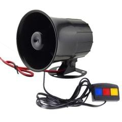 10W Super Power Electronic Wired Alarm Siren Horn for Home Alarm System, Wire Length: 65cm