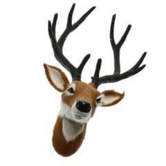 DIY Animal Deer Head Wall Hanging Creativ Home Wall Decor Crafts Art 3D Wall Decoration