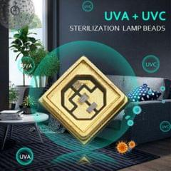 UVC LED Diode 270-280nm 3535 SMD Lamp Bead Chips Water and Air Sterilization