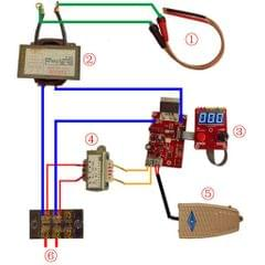 40/100A Spot Welding Time Current Controller Board 100A