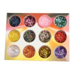 Nail Art Decoration Sticker Nail Glitter Sequins Design 3D DIY Tip Charms  2