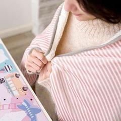 Driving Electric Heating Blanket Winter Hand Warmer Home Soft 72x115cm Pink
