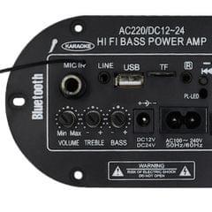 Digital Power Amp Built-in Bluetooth Microphone Mono Power Amplifier Board
