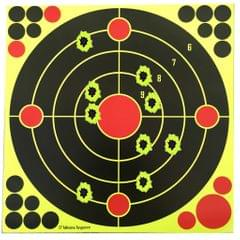 "12"" x 12""  Reactive Self Adhesive Shooting Targets Sticker"
