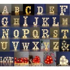 Creative LED Alphabet Light Marquee Letter Light Alphabet Light Up Sign A