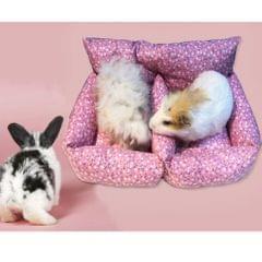 Hamster Mice Sofa Bed Soft Warm Cushion for Small Animal - Sleeping Mat Pad