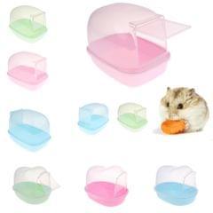 Ferret Bath Pool Chinchilla Pet Dust Sand Bathroom Shower Hamster Rat 01