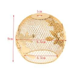 Small Iron Lamp Shade Chandelier Shade Light Cage Pendant Lights Fixture 4