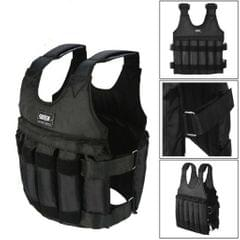 50KG Adjustable Workout Weighted Vest Exercise Strength Training Fitness
