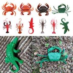 Fake Model Dispaly Artificial Marine Animals Decoration Red Lobster - A