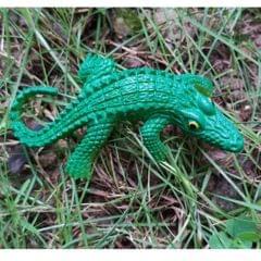 Fake Model Dispaly Artificial Marine Animals Decoration Crocodile S