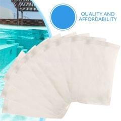 1pc White Nylon Swimming Pool Filter Storage Pool Skimmer Socks Saver