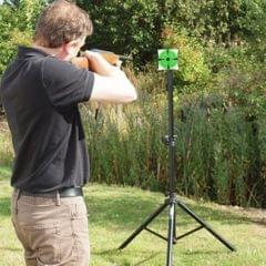 125 Shooting Targets Gun Range Pasters 3inch Circle Adhesive Stickers green