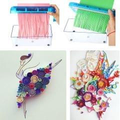 Manual Hand Cut Paper Shredder A6 Paper Documents Cutting Machine Tools Blue