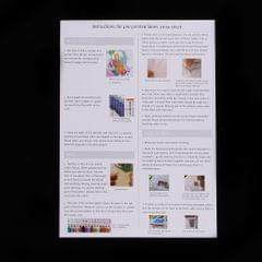 14CT 11CT Cat and Bird Stamped Cross Stitch Kit DIY Handmade Needlework 14CT 30x37cm