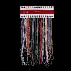 Flower Cross Stitch Kit DIY Needlework Stamped for Beginners 27 x 27cm 14CT