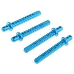 4x Aluminum Alloy Body Post Column For Axial SCX10 1/10 RC Car Truck Blue
