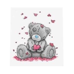 DIY 5D Bear Diamond Painting Embroidery Cross Crafts Stitch Bear Love