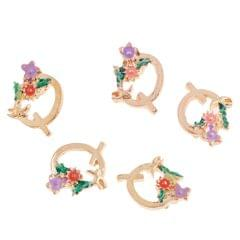 26 English Letters Alloy Pendant DIY Jewelry Bracelet Necklace Pendant Decor Q