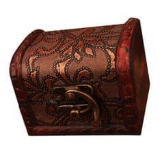 Chinese Retro Vintage Wood Mini Woman Jewelry Box Necklace Storage Box Case
