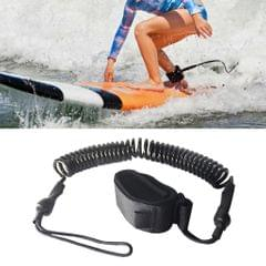 10' Surfing Surfboard Ankle Leash Coiled Stand Up Paddle Board Leg Rope
