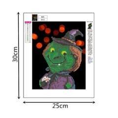 Halloween DIY 5D Diamond Painting Embroidery Cross Crafts Stitch Kit