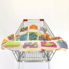 Baby Shopping Cart Seat Cushion Chair Seat Cover Anti-dirty   5