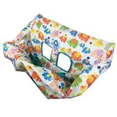 Baby Kids Shopping Cart Seat Cushion Dining Chair Cover Elephant