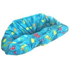 Baby Kids Shopping Cart Seat Cushion Dining Chair Cover Colorful fish