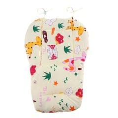 Baby Stroller High Chair Seat Cushion Liner Mat Pad Cover Protector  Giraffe