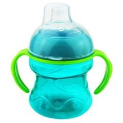 200 ML No-Spill Super Spout Grip Sippy Cups Style 2-Blue