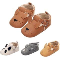 Infant Toddler Baby Soft Sole Animals Crib Shoes 6-12M Puppy