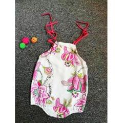 Baby Girls Floral Romper Bodysuit Jumpsuit Outfits Sunsuit 6-12 Months  Style 1