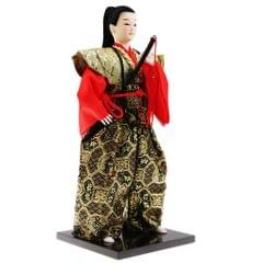 Japanese Samurai Doll Arts Crafts humanoid Doll Home office Decor Gift #1
