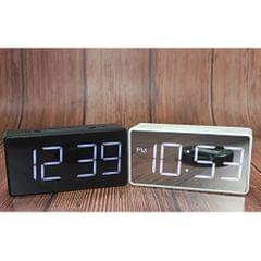 Led Digital Alarm Clock USB Port/Battery Operated Alarm Clocks Bedside Black