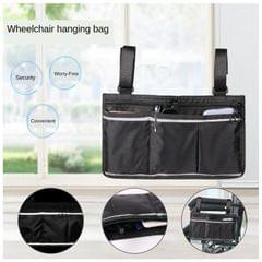 Wheelchair Side Bag Wheelchair Armrest Bag Waterproof Lightweight  Blue