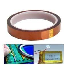 Brown High Temperature Heat Resistant Kapton Tape For Electric  Width 40mm
