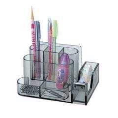 Office Acrylic Clear Desk Accessories Organizer Caddy Supply Storage