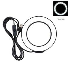 80 LED Selfie Ring Light Brightness Adjustable Photo Light 4.7inch (PU421B)