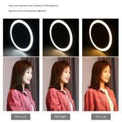 80 LED Selfie Ring Light Brightness Adjustable Photo Light 6.2inch(PU378)