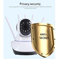 1080P Indoor Pan/Tilt WiFi Smart IP Camera Surveillance Night Vision EU Plug