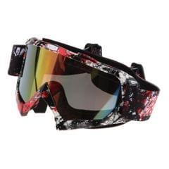 Anti Fog Motorcycle ATV Dirt Bike Racing Goggles Glasses A018 Colored Mirror