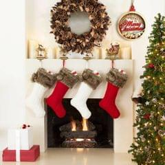 3D Wooden Christmas Ornament Home Party Hanging Decor Merry Christmas