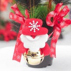Christmas Doll Bell Pendant Hanging Xmas Ornament Home Decor Santa Claus